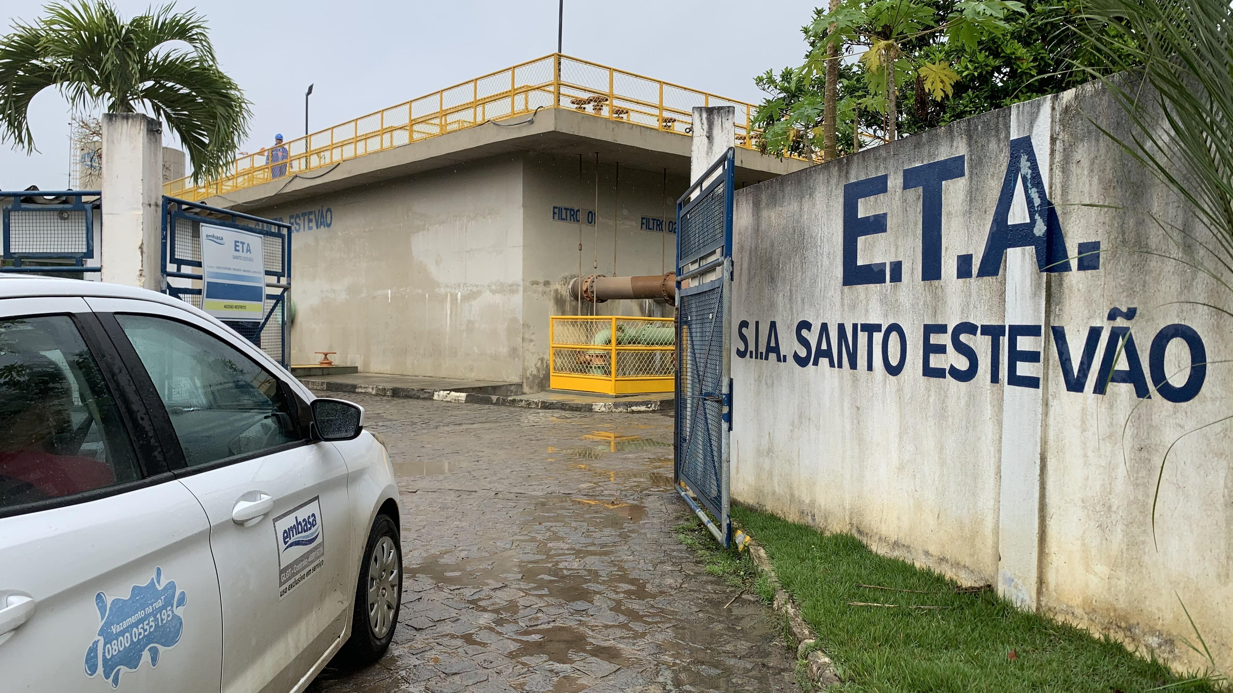 Após reparo, sistema Embasa opera com capacidade total de abastecimento em Santo Estevão e região
